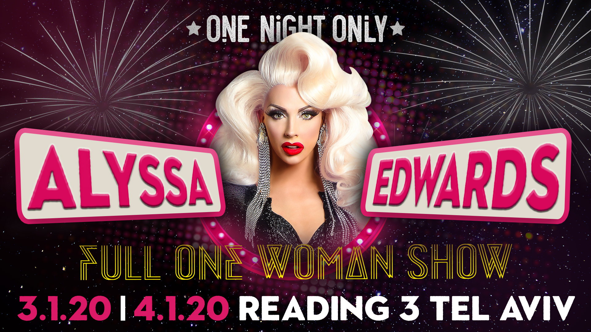 Alyssa Edwards Live 3.1.20