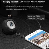 מצלמת ריגול מיני הקטנה בעולם HD 1080P נשלטת מהטלפון