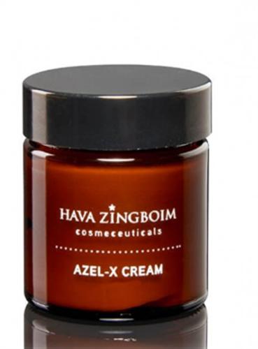 אזל אקס קרם להבהרה חוה זינגבוים AZEL-X CREAM