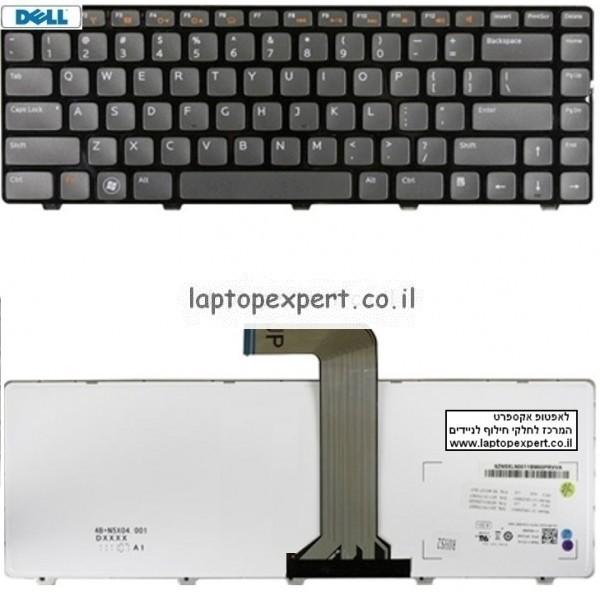 החלפת מקלדת למחשב נייד דל Dell Vostro 2420 2520 3350 3450 3460 3550 3555 3560 Keyboard