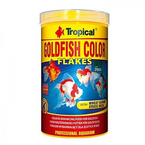 """מזון לדגי זהב בצורת דפים 250 מ""""ל"""