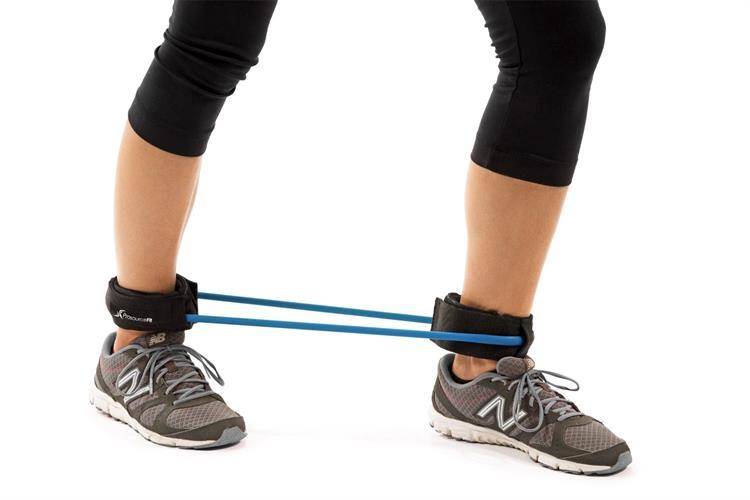 גומיית אימון ביתי|אימון פלג גוף תחתון הכוללת גומי איכותי