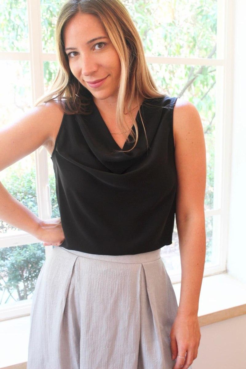 חולצת ליהי שחורה