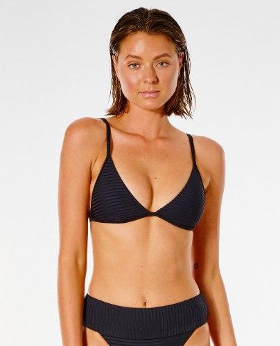 RIP CURL Premium Surf Banded Fixed Tri Bikini Top
