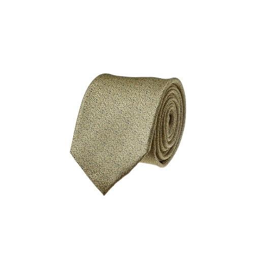 עניבה שלג צהוב- אפור