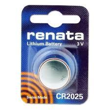 סוללות ליטיום 8 יחידות RENATA LITHIUM CR2025