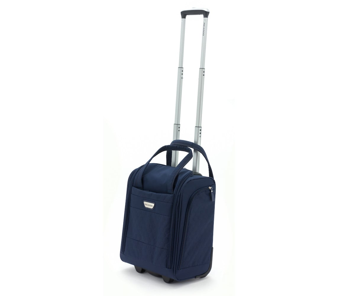 מבצע מטורף! מזוודה עלייה למטוס RICARDO BEVERLY HILLS דגם ANNADEL- כחול