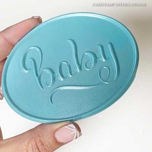 תבנית תינוק  BABY  | קישוט טופר תינוקות| טופר תינוק חדש ברית בריתה יום הולדת שנה| חדש מאתי דבש
