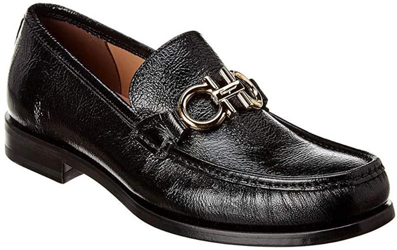 נעלי Salvatore Ferragamo לגברים ROLO CAPRA NERO