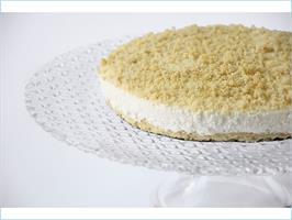 עוגת גבינה מוס פירורים (קוטר)