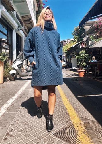 שמלת אנדי כחולה