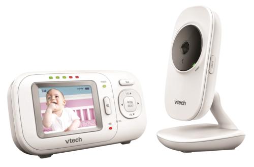 מוניטור אינטרקום לתינוק עם מסך המצלמה
