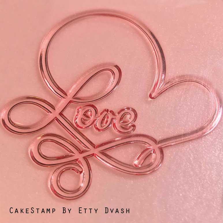 Elegant Love stamp