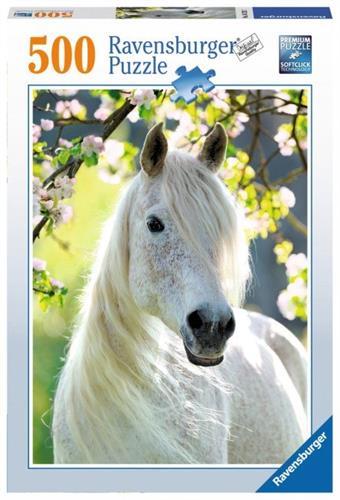 סוס לבן פאזל 500 חלקים