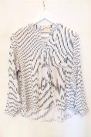 חולצת מכופתרת רונה לבנה