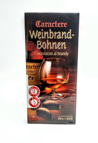 Weinbrand Bohnen