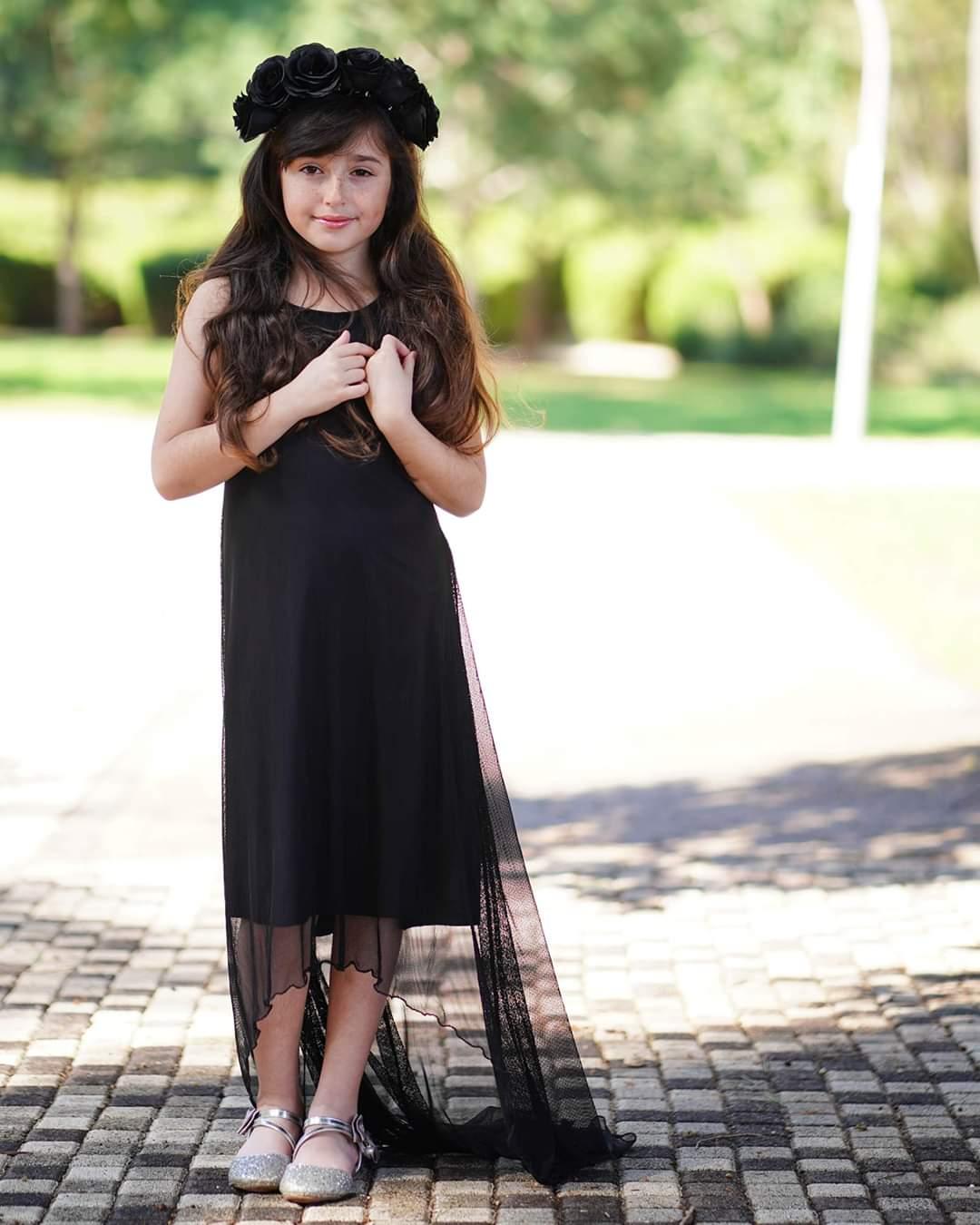 שמלת אוקסנה שחורה