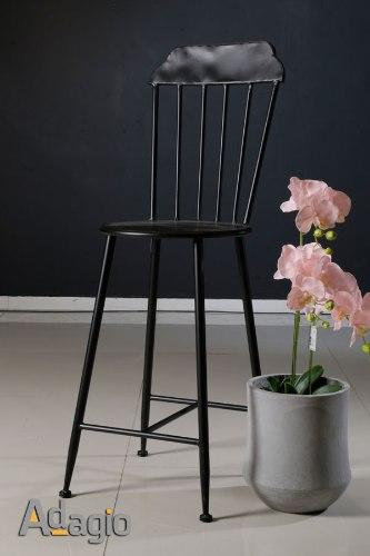 כיסא בר פירזול  מגיע בצבע: שחור מידות: 40X70X120
