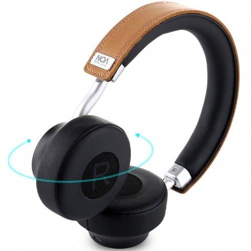 אוזניות בלוטוס On Ear סטריאפוניות NOA Clear Sound