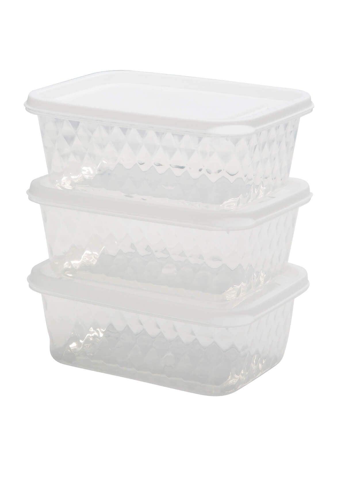 שלישית קופסאות פלסטיק גדולות