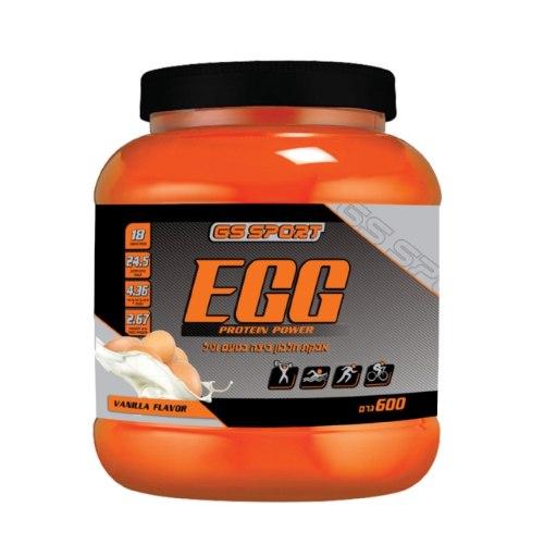 """G.S חלבון ביצה- פרו אג וניל 600 גר העה""""ח נוטרי קר"""