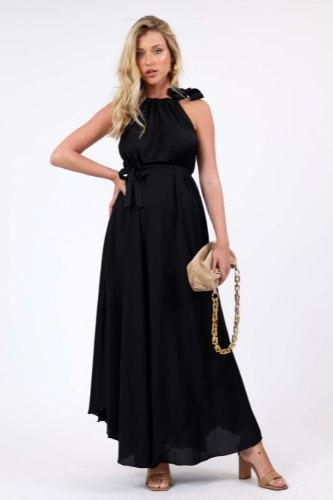 שמלת ערב דיאן שחור