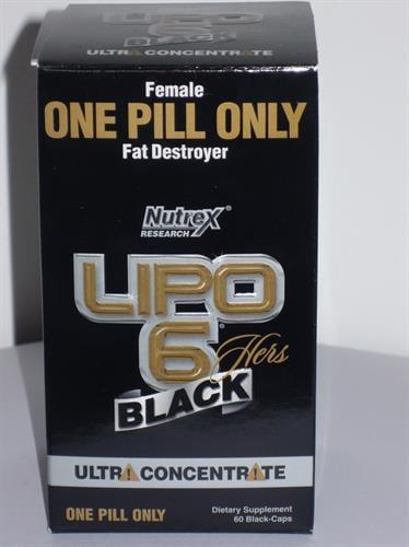 ליפו 6 שחור אולטא מרוכז לנשים LIPO 6 BLACK UC. hers