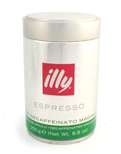 קפה אילי טחון - נטול קפאין (ILLY)