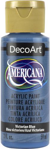 """צבע אמריקנה 59 מ""""ל Victorian Blue DAO39"""