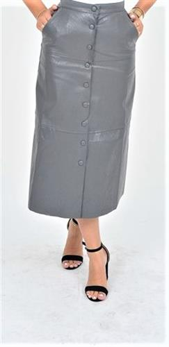 חצאית מואיז ויטו דמוי עור