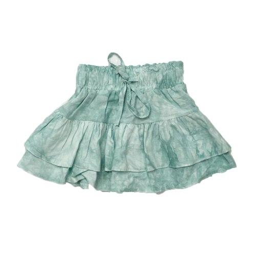 חצאית טאי דאי ירוק 2-16