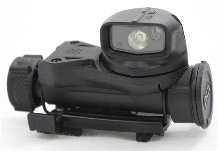 פנס  לקסדה טקטית מדגם פצל סטריקס שחור  PETZL STRIX  VL E90AHB C