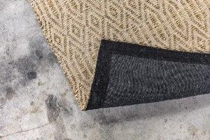 שטיח עשב ים  - עם דוגמה באבן (ארוך)