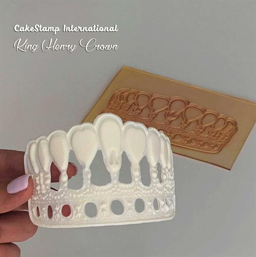 King Henry crown Big Chocolate mold