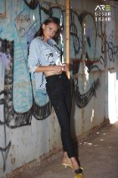 חולצה ג'ינס ANTIGO RESPECT