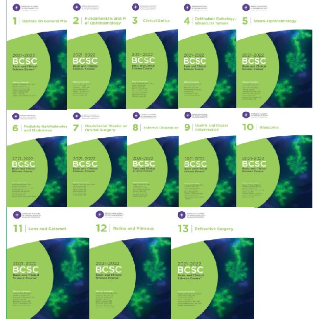 2021-2022 Basic and Clinical Science Course, Complete Print Set