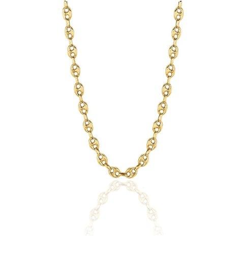 שרשרת זהב לגבר 65 סמ