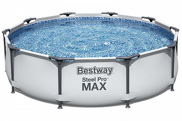 Bestway 56408 בריכת צינורות עגולה קוטר 305 מטר  כולל משאבה