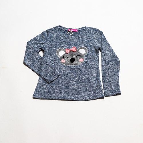 חולצת בנות לייקרה קואלה מלאנג'