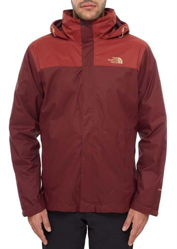 מעיל נורת פייס גברים מדגם  The North Face Men's Evolve ii Triclimate Red