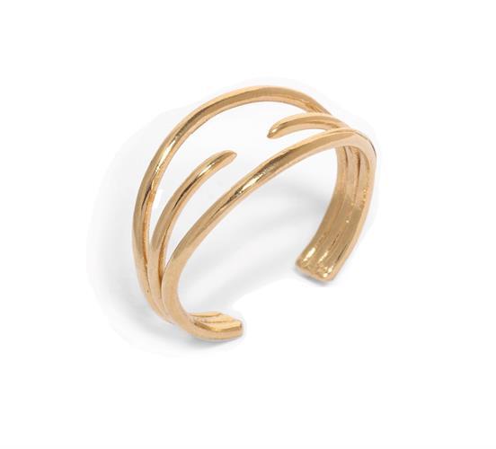טבעת נינה זהב