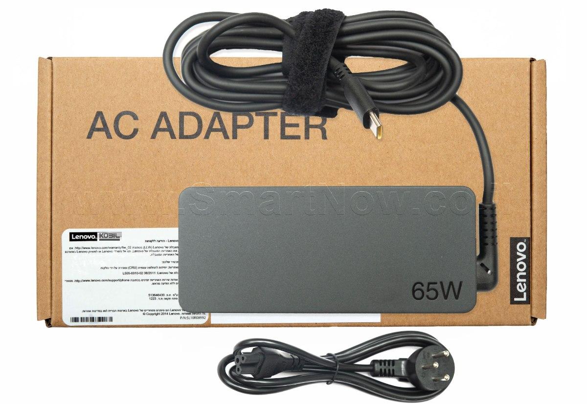 מטען למחשב לנובו Lenovo 65w Type-C USB -C