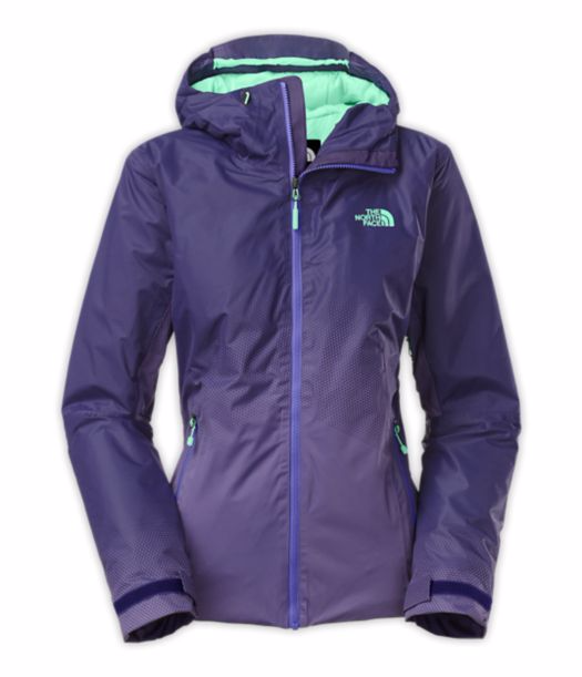 מעיל נשים נורט פייס מדגם The North Face Women's Fuseform Dot Matrix Insulated Jacket Purple