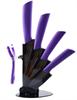 סגול - סט סכיני שף מקצועיים