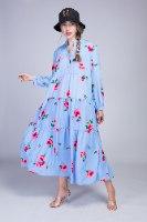 שמלת קומות פרחים