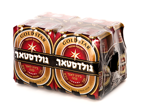 ארגז בירה גולדסטאר 24 יח'