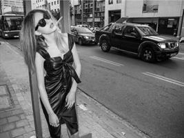 שמלת עור גרייס שחור