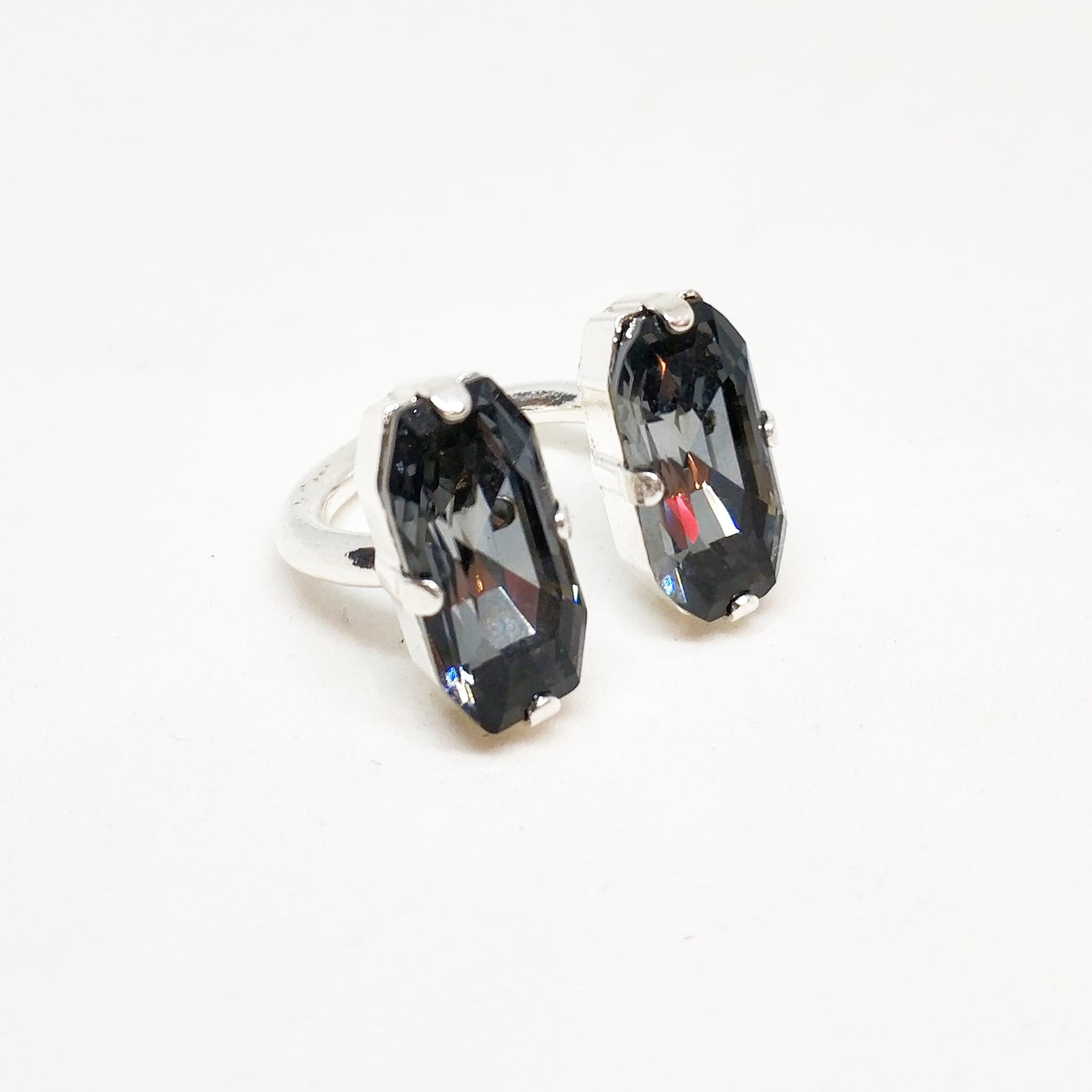 טבעת ג'ולייט קטנה כסף