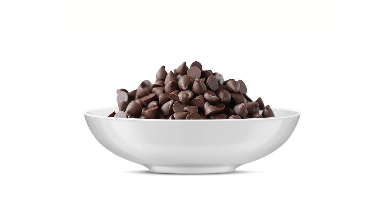 שוקולד צ'יפס מריר 100 גרם