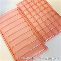 Set of two molds- Rectangles and squares